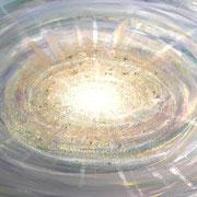 'das innere Licht bricht hervor' Acrylgemälde