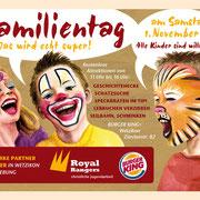 Zusammenarbeit Royal Rangers Jungschar und BurgerKing