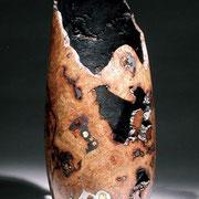 Pièce creusée - loupe de chêne - h 54 cm 2006