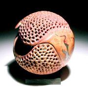 """""""Chimera 1"""" ronce de bruyère - dia 14 cm- 2004"""
