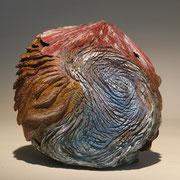 """""""Terra incognita 008"""" ronce de bruyère - 25 cm - 2008"""