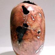 Pièce creusée - loupe d'orme - h 50 cm - 2004