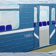Metro 2, Acryl auf Leinwand 30x40cm - 200,-€