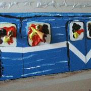 Metro - Acryl auf Leinwand 40x50cm