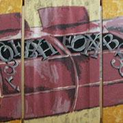 Muell - Acryl auf Leinwand 50x100cm (verkauft)