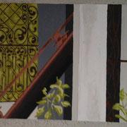 Letzte Ruhe 2, Acryl auf Leinwand 50x60cm - 450,-€