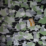 Ungeziefer (zehn Plagen), Acryl auf Leinwand 100x100cm - 700,-€