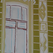 Petersburg, Acryl auf Leinwand 50x70cm  (verkauft)