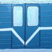 Metro, Acryl auf Leinwand 30x40cm - 200,-€