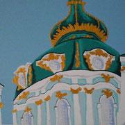 Basilika Kiew, Acryl auf Leinwand 50x70cm - 350,-€