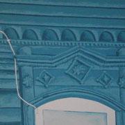 Samara blau 3, Acryl auf Leinwand 50x70cm - 350,-€