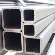 gestrahlte Stahlbauholprofile