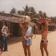 1983 - Sur la plage de Badagry
