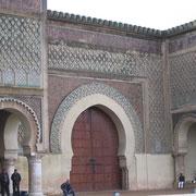 "Porte ""Bab Mansour'"