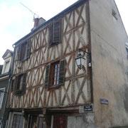 Maison à pans de bois