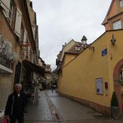 La rue des dentelles, la petite France