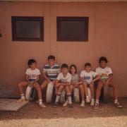 1985 - Derrière l'école