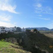 Vue sur la ville ancienne