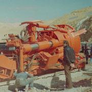 Décembre 1976 - L'UNIBO rentre dans le tunnel d'Al Ayoun