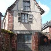 Maison de Maurice Biron dans la rue Noire