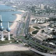 Vue générale de Koweit-city