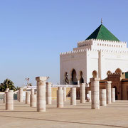 Le mausolée Mohammed V