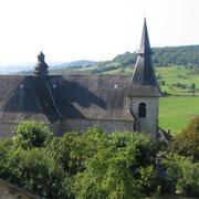 Ancienne Collégiale, fondée en 1593 par Charlotte de la Marck, 1er épouse d'Henri 1er