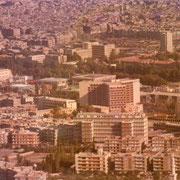 Damas, vue sur l'hôtel méridien