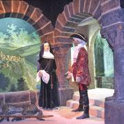 Antoine au couvent des Bénédictines