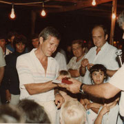 1984 - Remise de la médaille des 10 ans chez Bouygues