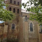 Eglise du XIIème siècle de SAINT-MARTIN-LE-CHÂTEL