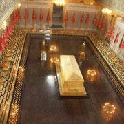 Le tombeau de Mohamed V