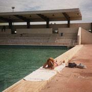 A la piscine de l'INSET