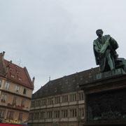 La statue de Gutembert