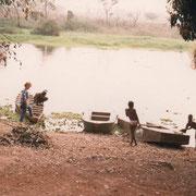1988 - Tortiya au campement de Marius