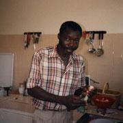 Joachim qui est arrivé un beau matin du Nigéria pour nous rejoindre.