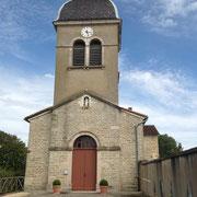 Eglise romane du XVIème siècle de CURTAFOND