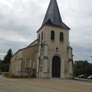 Eglise du 18ème siècle de CONFRANçON