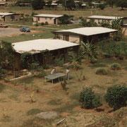L'ilôt 4 et notre maison en 1987