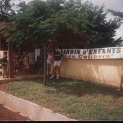 l'Ecole primaire des Colibris, juste à coté de notre maison