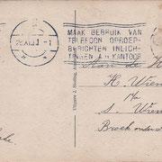 Ansichtkaart Gevangenis Leeuwarden A0052-b