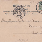 Ansichtkaart Gevangenis Leeuwarden A0102-b