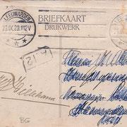 Ansichtkaart Gevangenis Leeuwarden A0107-b
