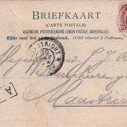 Ansichtkaart Gevangenis Leeuwarden A0053-b