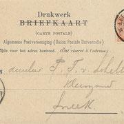 Ansichtkaart Gevangenis Leeuwarden A0127-b
