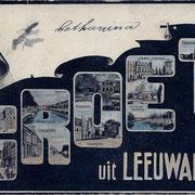 Ansichtkaart Gevangenis Leeuwarden A0128-a