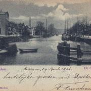Ansichtkaart Gevangenis Leeuwarden A0022-a