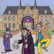 Ansichtkaart Gevangenis Leeuwarden A0136-a