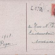 Ansichtkaart Gevangenis Leeuwarden A0027-b