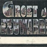 Ansichtkaart Gevangenis Leeuwarden A0158-a
